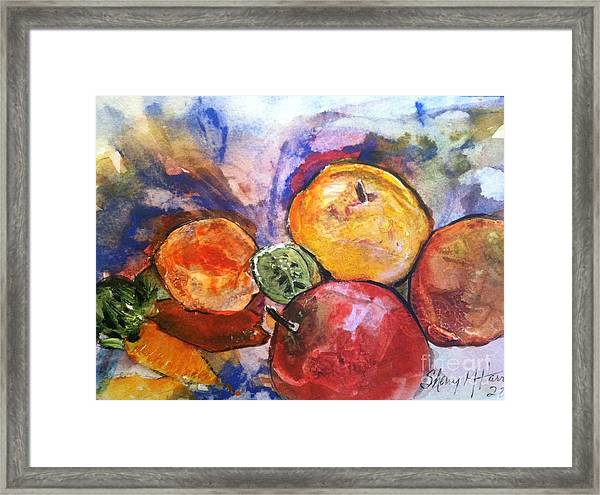 Appetite For Color Framed Print