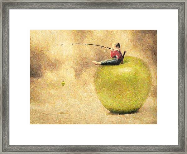 Apple Dream Framed Print