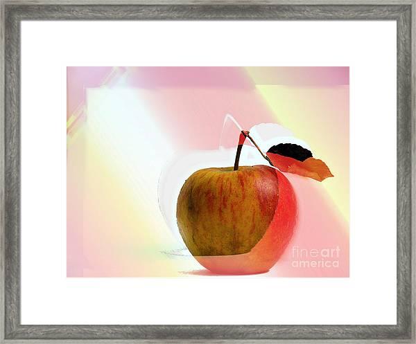 Apple Peel Framed Print