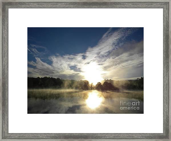 Glorious Morning Framed Print