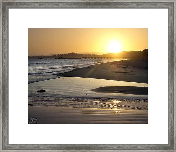 Aptos Framed Print