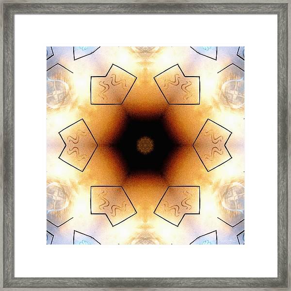 Aquarian Stardrum Framed Print