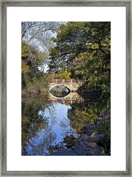 Arboretum Drive Bridge - Madison - Wisconsin Framed Print