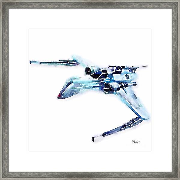 Arc-170 Starfighter Framed Print