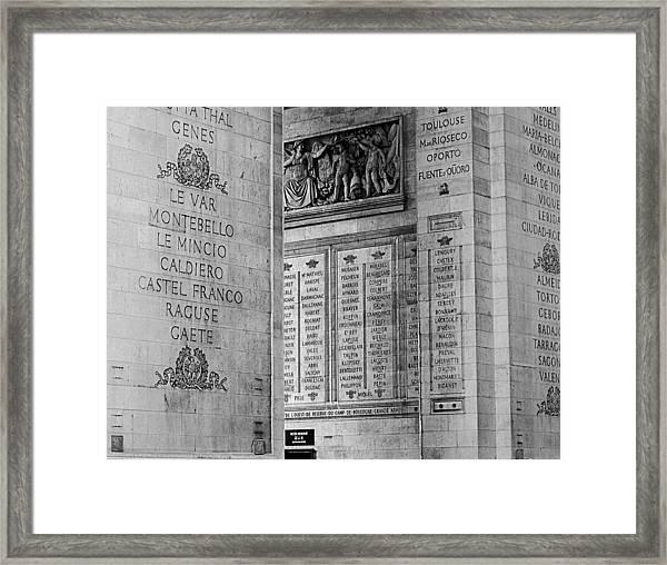 Arc363 Framed Print