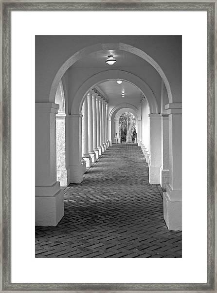 Arches At The Rotunda At University Of Va 2 Framed Print