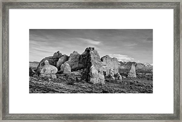 Arches  Framed Print by Darryl Wilkinson