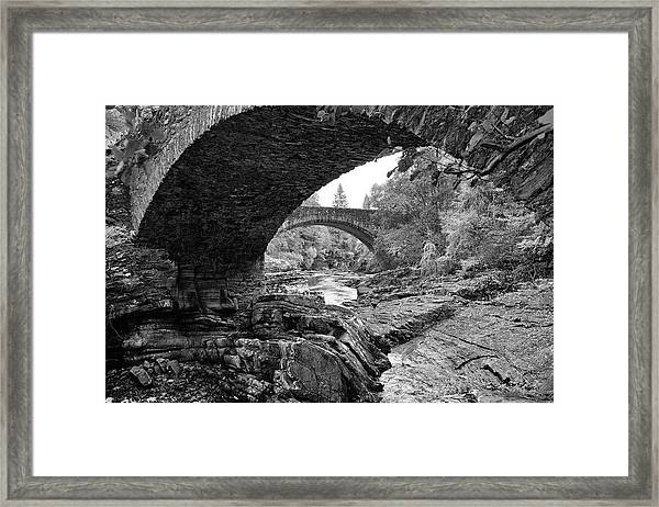 Arches Of Invermoriston Framed Print
