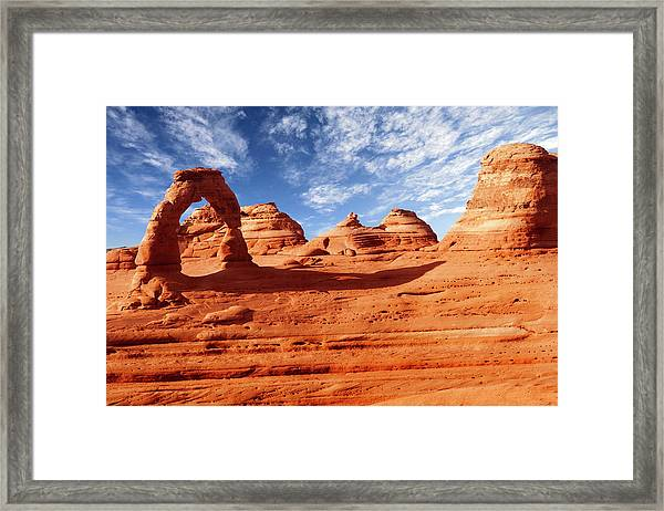 Arches Framed Print by Wsfurlan