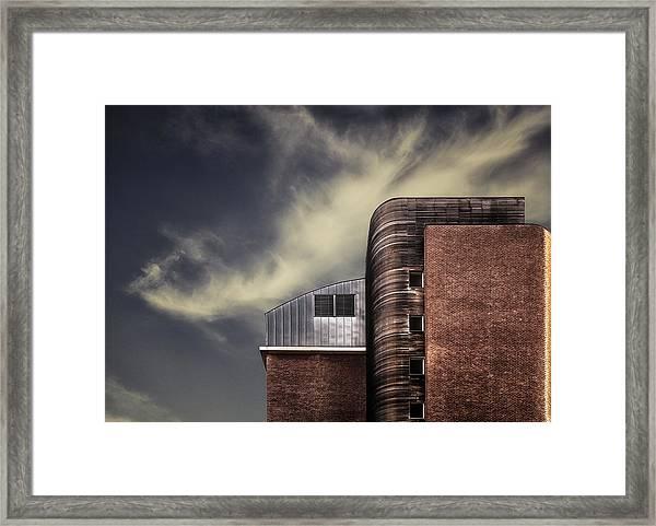 Archi-mix. Framed Print by Harry Verschelden