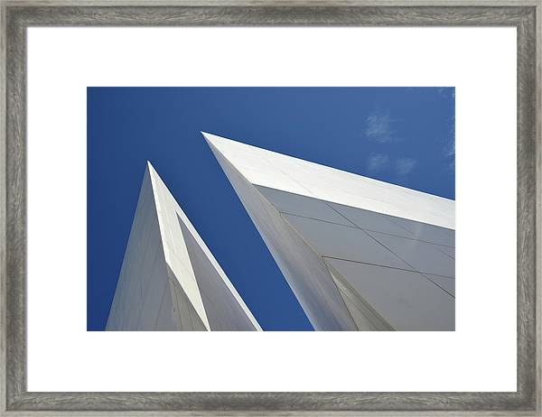 Architectural Details Framed Print by Martial Colomb