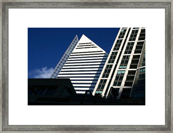Architectural Pyramid Framed Print