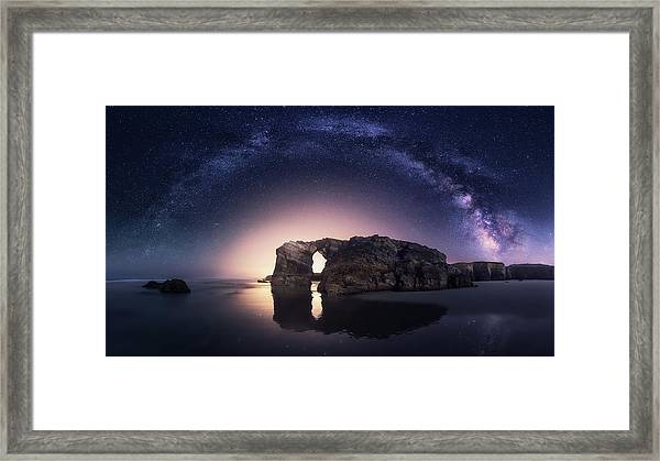Arcos Naturales Framed Print by Carlos F. Turienzo