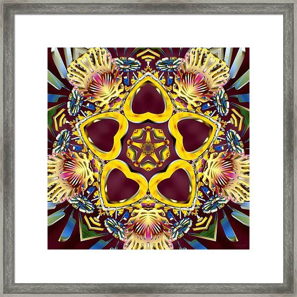 Arcturian Starseed Framed Print