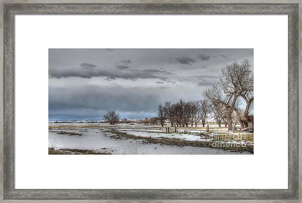 Ardmore Prairie Framed Print