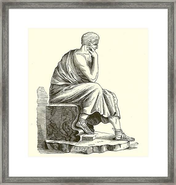 Aristotle Framed Print