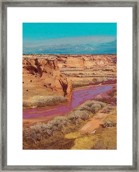 Arizona 2 Framed Print