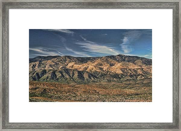 Arizona Lonesome Framed Print by Carolyn Fletcher
