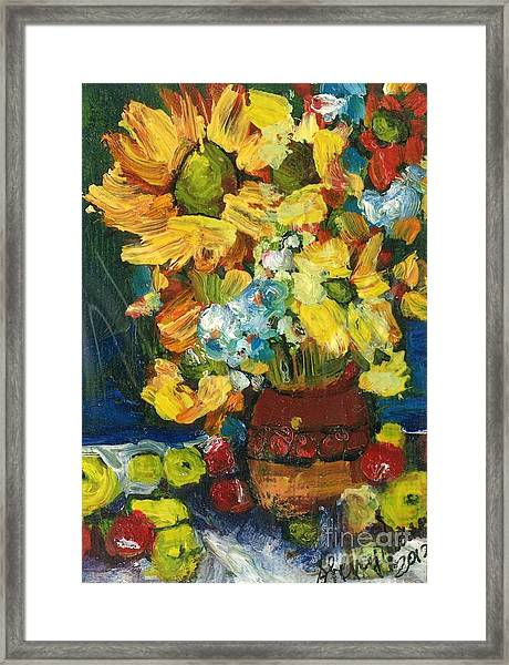Arizona Sunflowers Framed Print