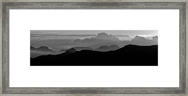 Arizona View Framed Print