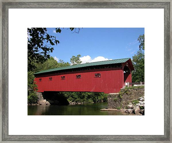 Arlington Bridge 2526a Framed Print
