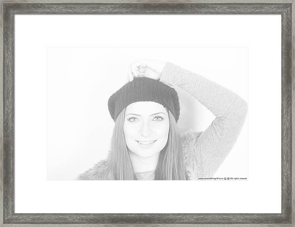 Arm Up Framed Print