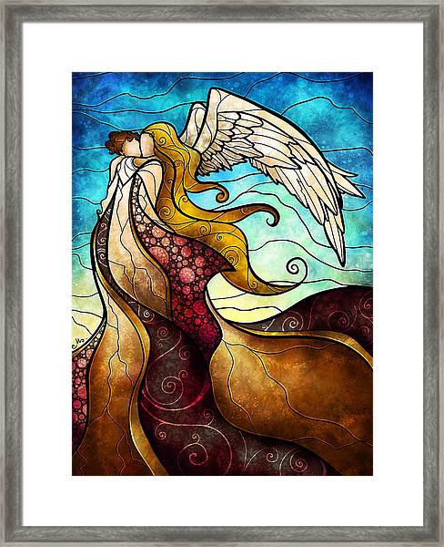 Arms Of The Angel Framed Print