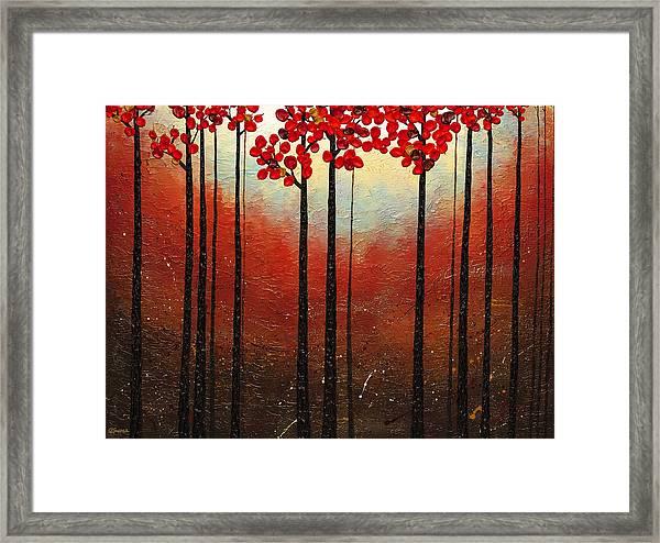 Aroma Do Campo Framed Print