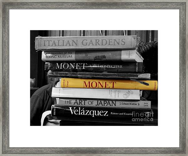 Art Books Framed Print