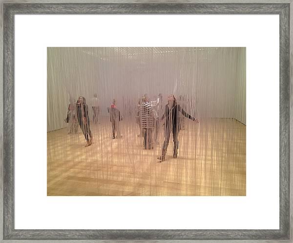 Art Exhibit Framed Print