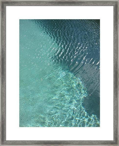 Art Homage David Hockney Swimming Pool Arizona City Arizona 2005 Framed Print