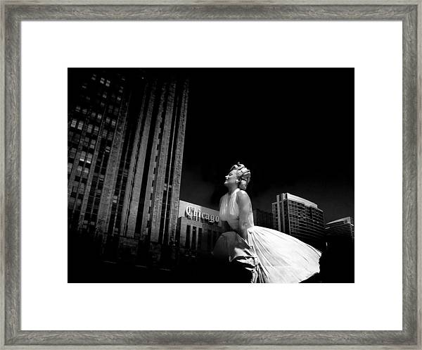 Art In Chicago Framed Print