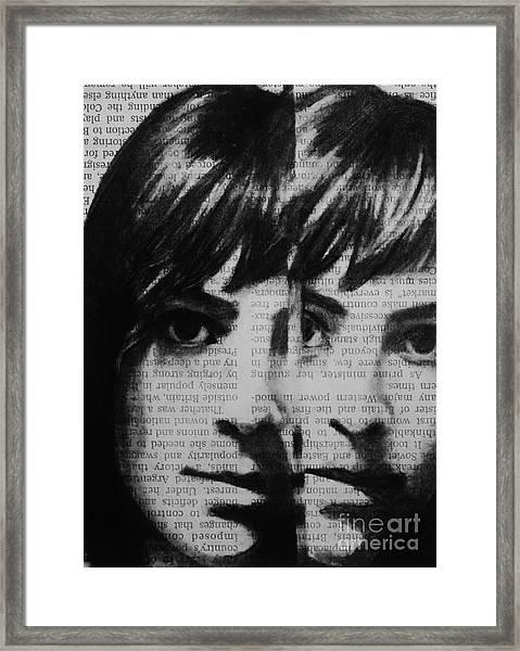 Art In The News 22 Framed Print