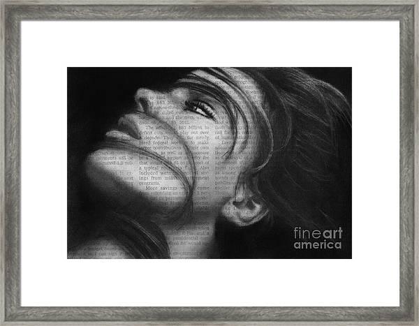 Art In The News 42 Framed Print