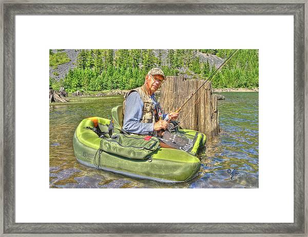 Art Of Fly Fishing Framed Print