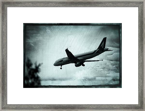 Artistic Alitalia Framed Print