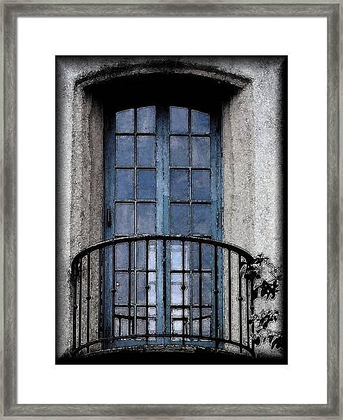Artistic Window Framed Print