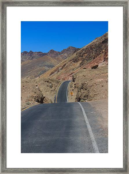 Artist's Road Framed Print