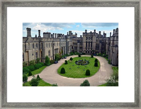 Arundel Castle Courtyard Framed Print