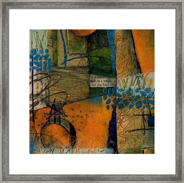 As A Tendency  Framed Print