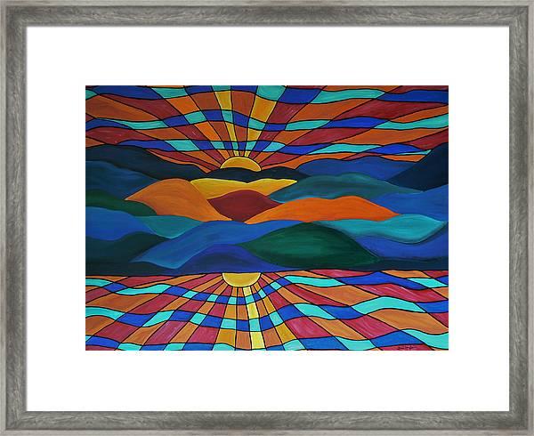 As Above So Below Framed Print