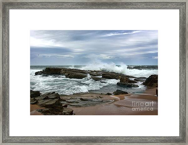 Framed Print featuring the photograph As Above So Below by Glenda Wright