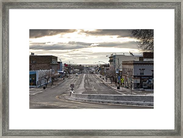 As Cold As It Looks Framed Print by The Couso Collection