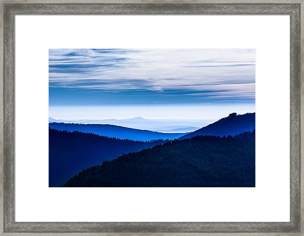 As Far As Our Eye Can See Framed Print