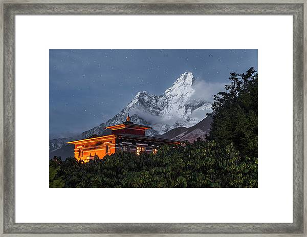 As Night Falls Framed Print by Karsten Wrobel