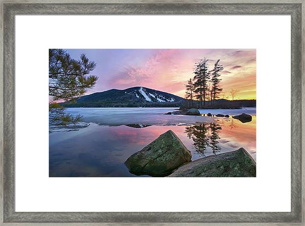 As Seen In Down East Framed Print