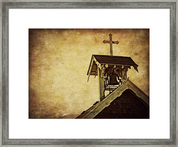 As The Bell Tolls  Framed Print