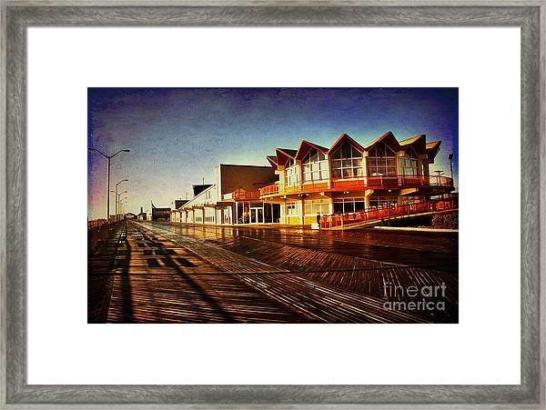 Asbury In The Morning Framed Print