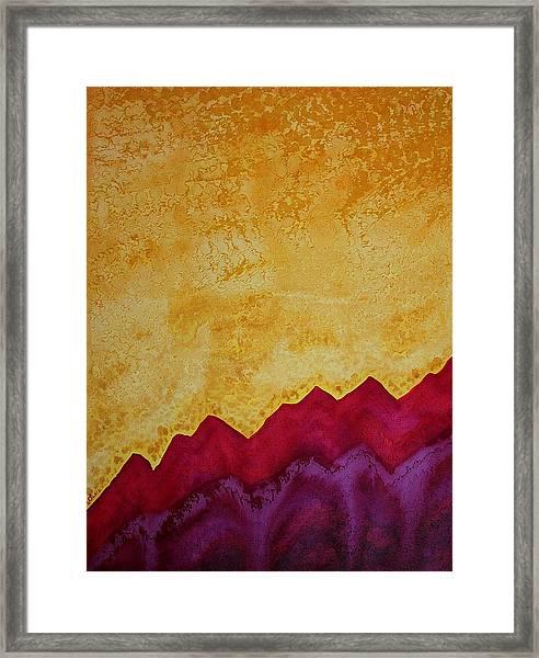 Ascension Original Painting Framed Print
