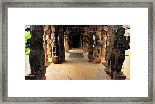 Asia, India, Tamil Nadu, Padmanabhapuram Framed Print by Steve Roxbury